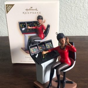 RARE 2007 Star Trek Lieutenant Uhura Ornament